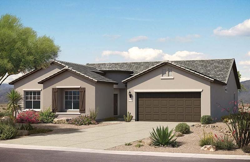 Gallery For Gt Stucco Ranch Homes Ranch Homes In 2019