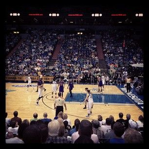 At the home opener watching our WNBA partner, the Minnesota Lynx.