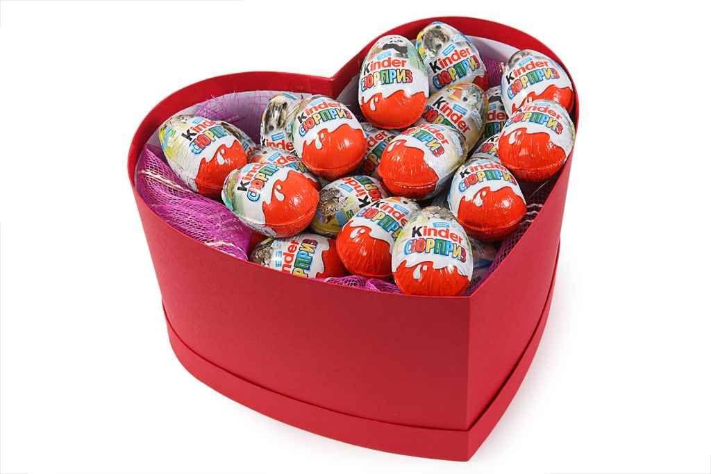 удивительный Коробка сюрпризов (сердце)  #Подарки #Подарочныенаборы,Коробкасюрпризов(сердце)
