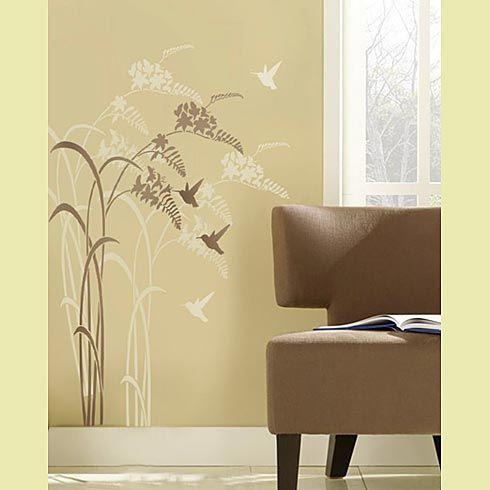 Stencil idea | Mi casa | Pinterest | Stenciling, Wall stenciling and ...