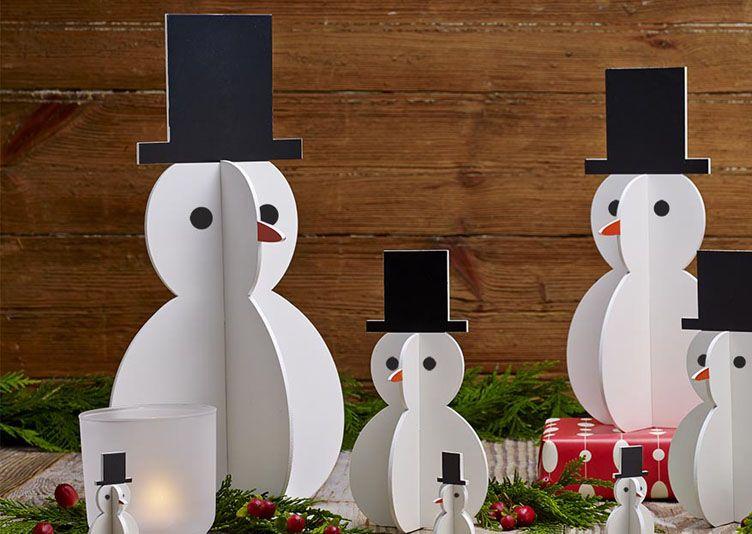 déco de noël bonhomme de neige … | pinteres…