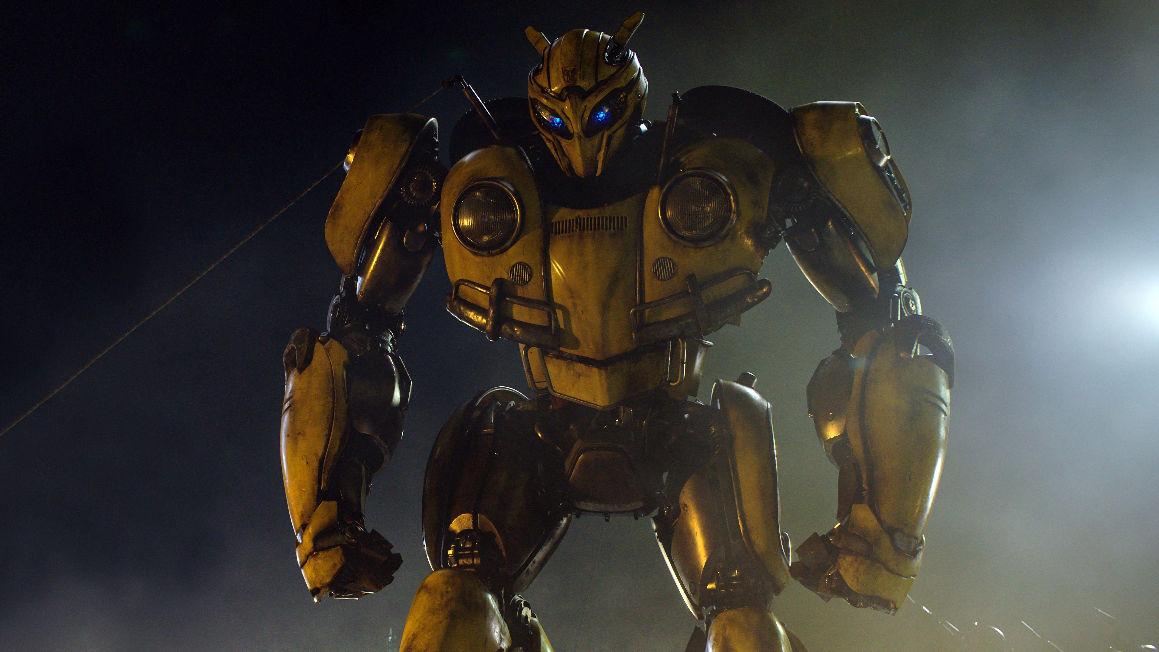 Wallpaper Transformer Bumblebee 002 Resized For Iphone X Robotika Ksatria Pahlawan Super