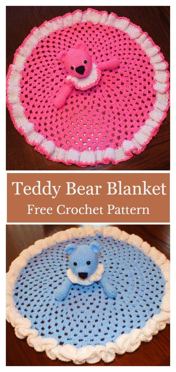 Cute Bear Lovey Free Crochet Pattern