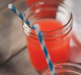coral color signiture drink   Coral signature drink   wedding ideas ...