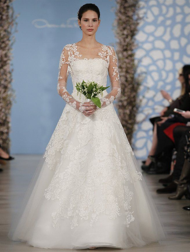Wow wedding gowns with textured skirts oscar de la renta wedding wedding gowns with textured skirts weddingdress weddinggown texturedskirt junglespirit Choice Image