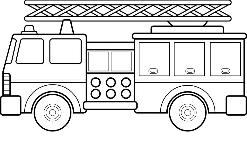 Free Printable Fire Truck Coloring Pages For Kids Halaman Gambar Mewarnai Mobil Pemadam Kebakaran Warna Gambar Dan Gambar Mew Halaman Mewarnai Warna Gambar