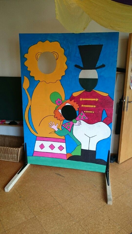 Fotowand Thema Zirkus Circus Fun Pinterest Carnival Art For
