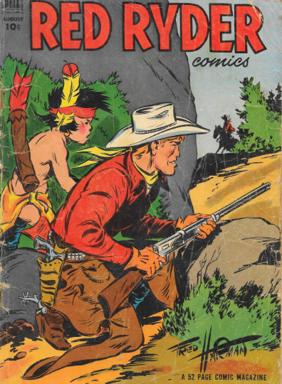 1952 Red Ryder Comic Books - Vintage Golden Age Western Tales $0.10 cent comic #comicbooks