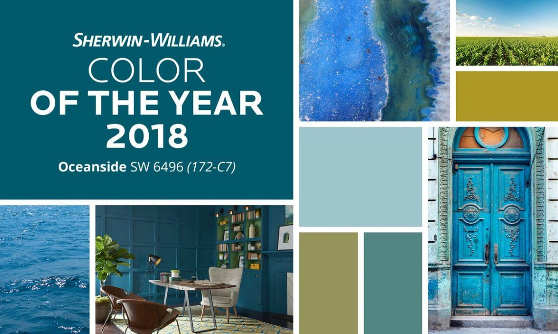 Sherwin Williams's 2018 Color of The Year Is Here : Top 10 ...