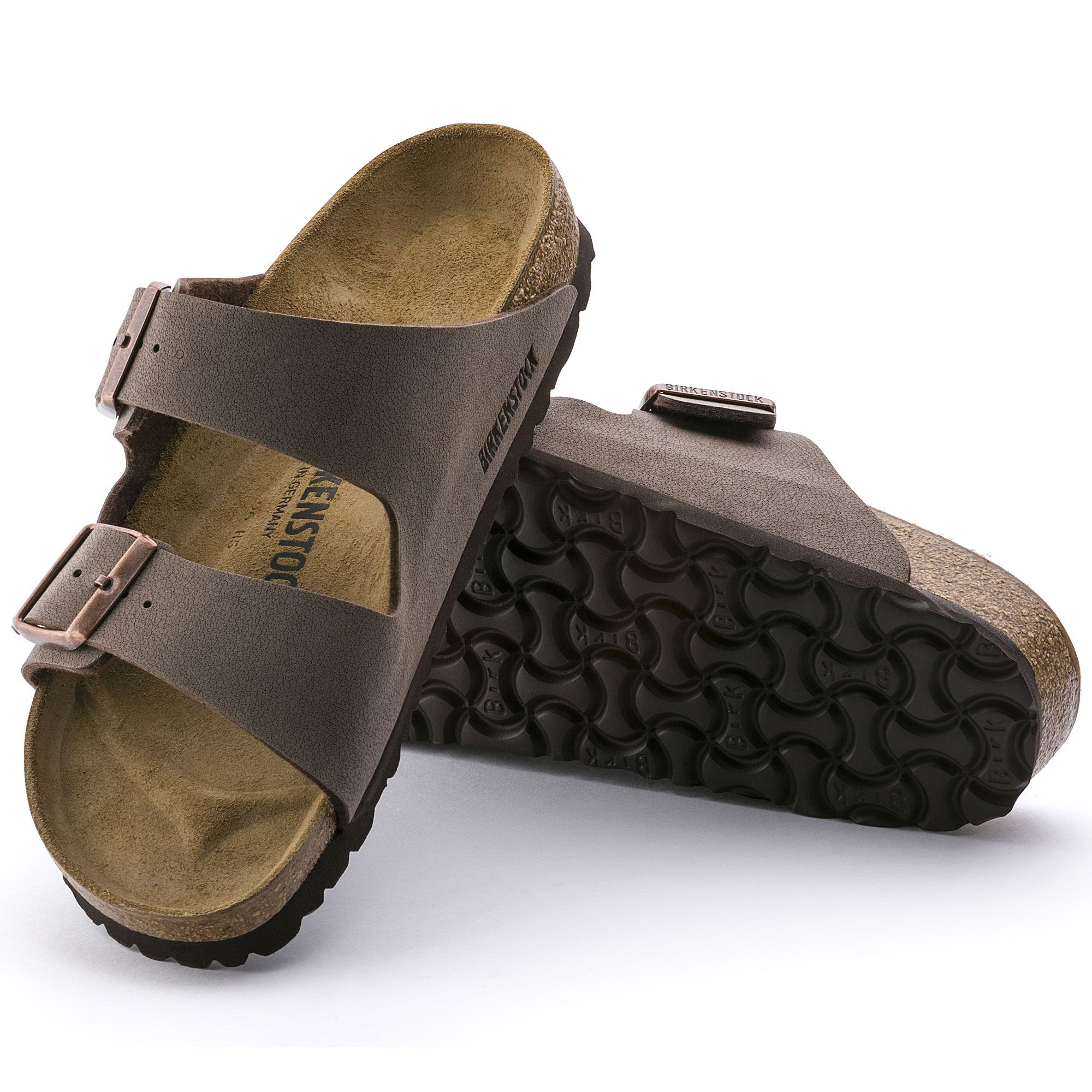 Arizona Birko Flor Nubuck | Birkenstock, Strap sandals