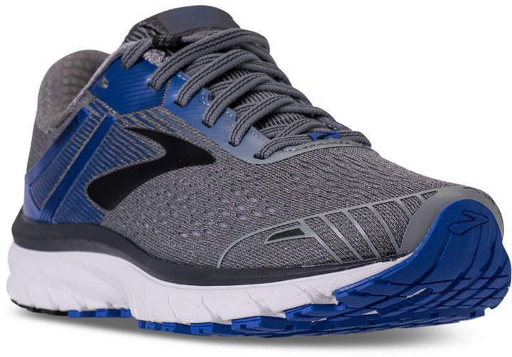 2eacb22681b11 Brooks  Men s Adrenaline Gts 18  Running  Sneakers from Finish Line. Get  your heart pumpin with the Men s Brooks Adrenaline Gts 18 Running Shoes.