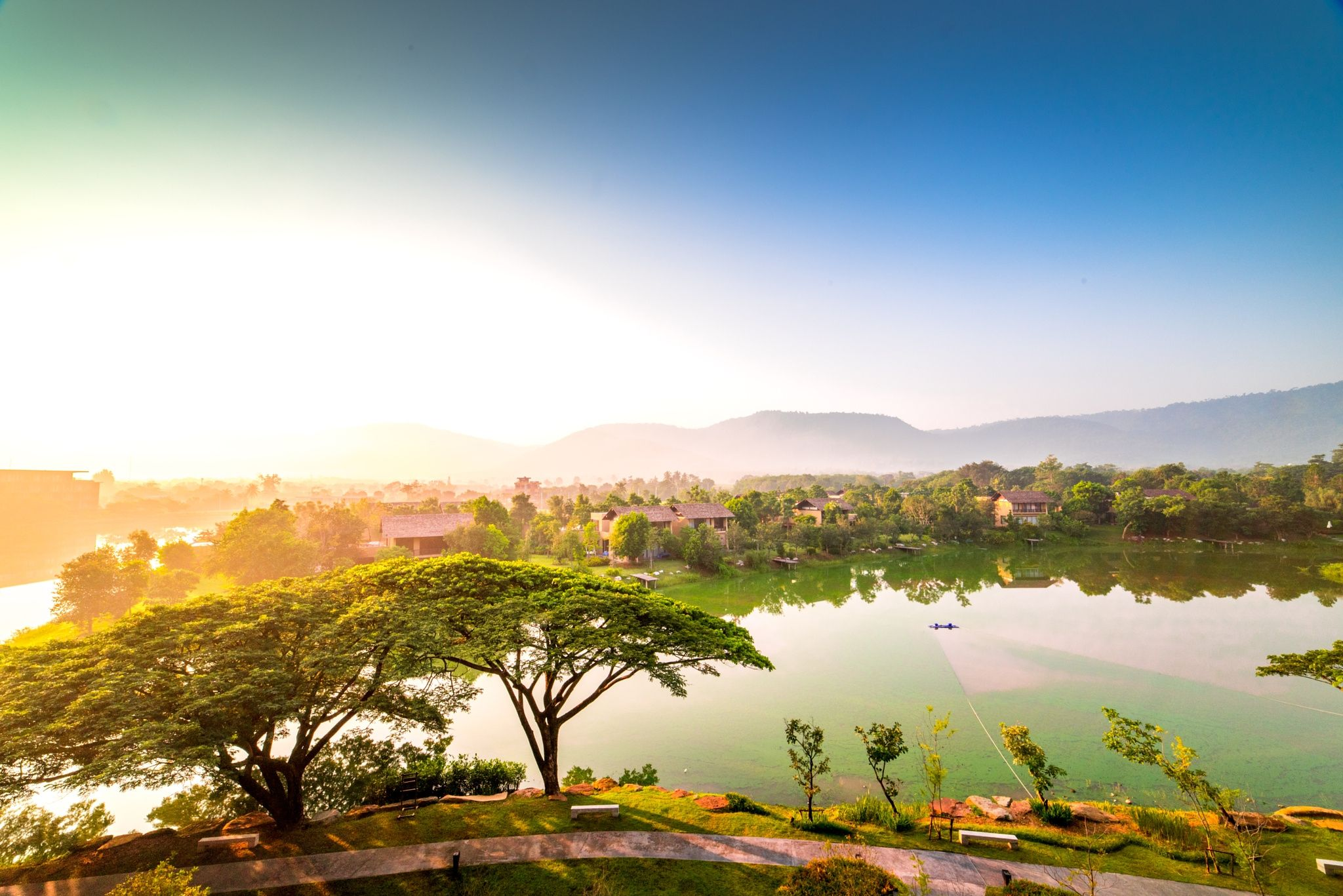 VK - View from Atta Resort in Nakorn Rachasima, Thailand.