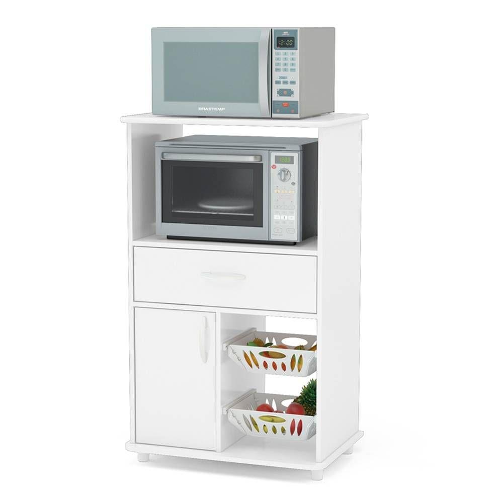 Compra En Walmart Tienda En Línea Frutero Para Cocina Politorno Tocantins Blanco Envío A Todo Méx Muebles Microondas Muebles De Cocina Mueble Auxiliar Cocina
