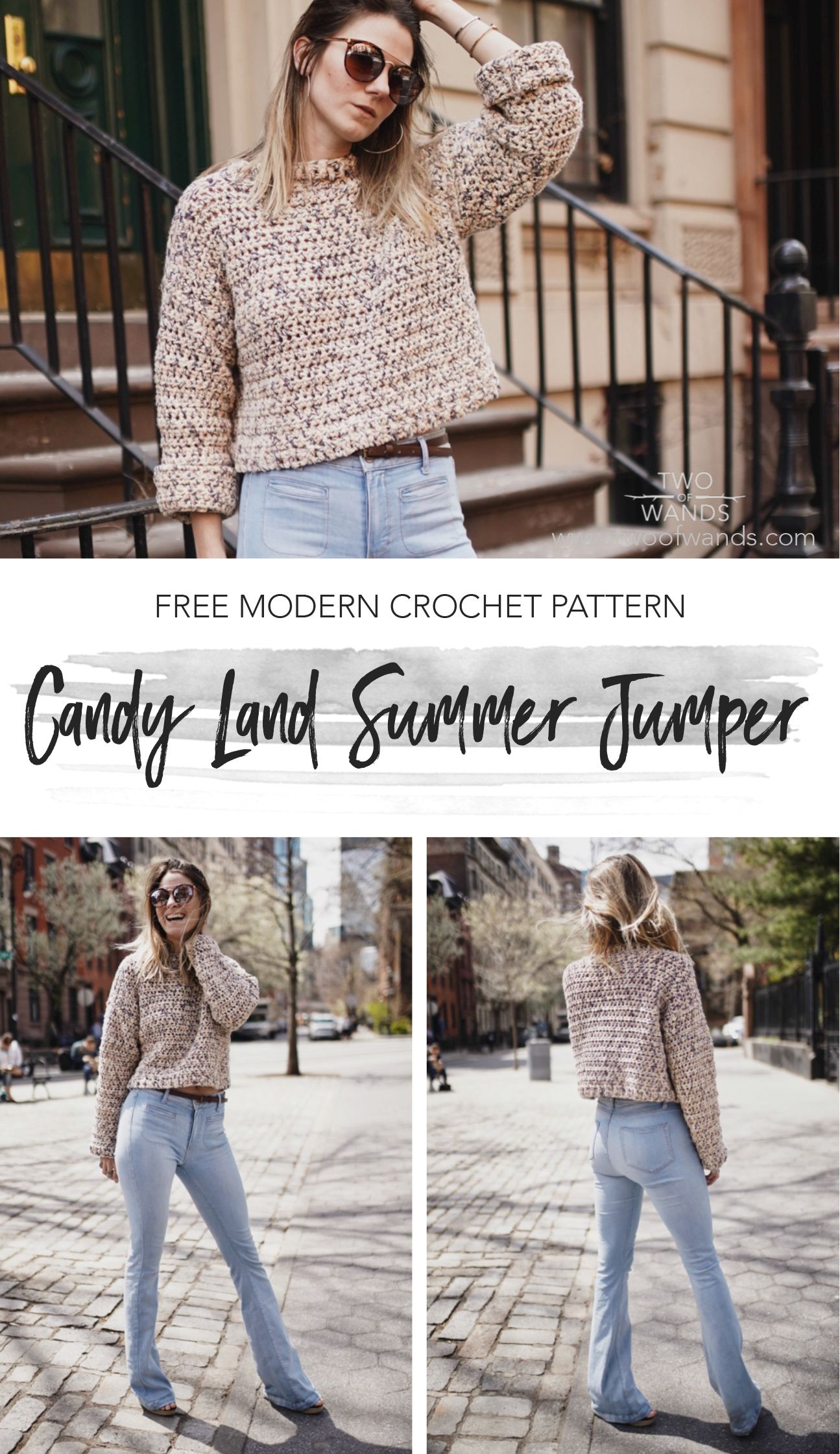f55e98706 Candy Land Summer Jumper pattern by Two of Wands
