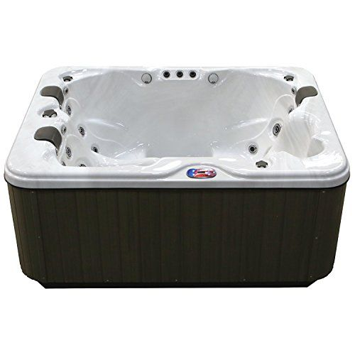 American Spas Am 534ls 3 Person 34 Jet Longer Spa With Bluetooth