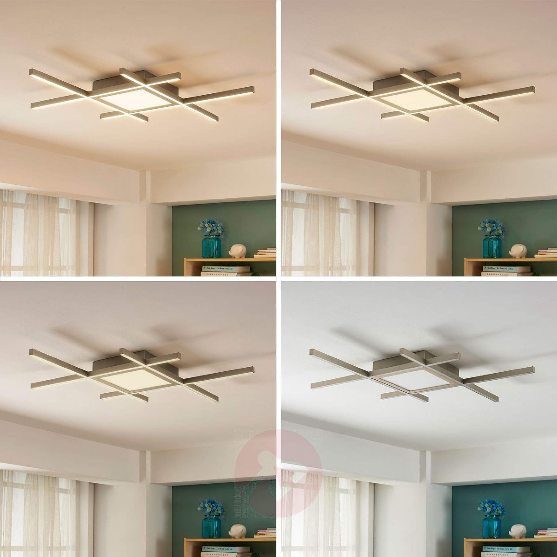 Amaro Bright Led Ceiling Lamp With Remote Control 9621249 01 Led Ceiling Lamp Ceiling Lamp Bright Led