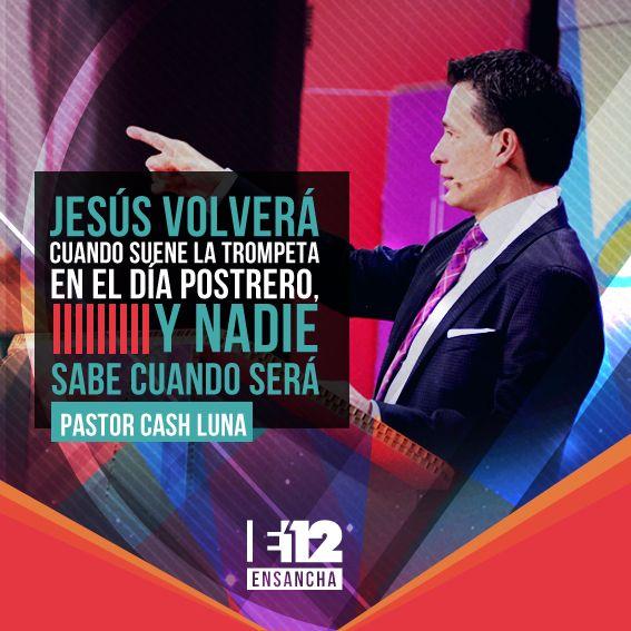 Jesús Volverá Cuando Suene La Trompeta En El Día Postrero Y Nadie Sabe Cuando Será Jesus