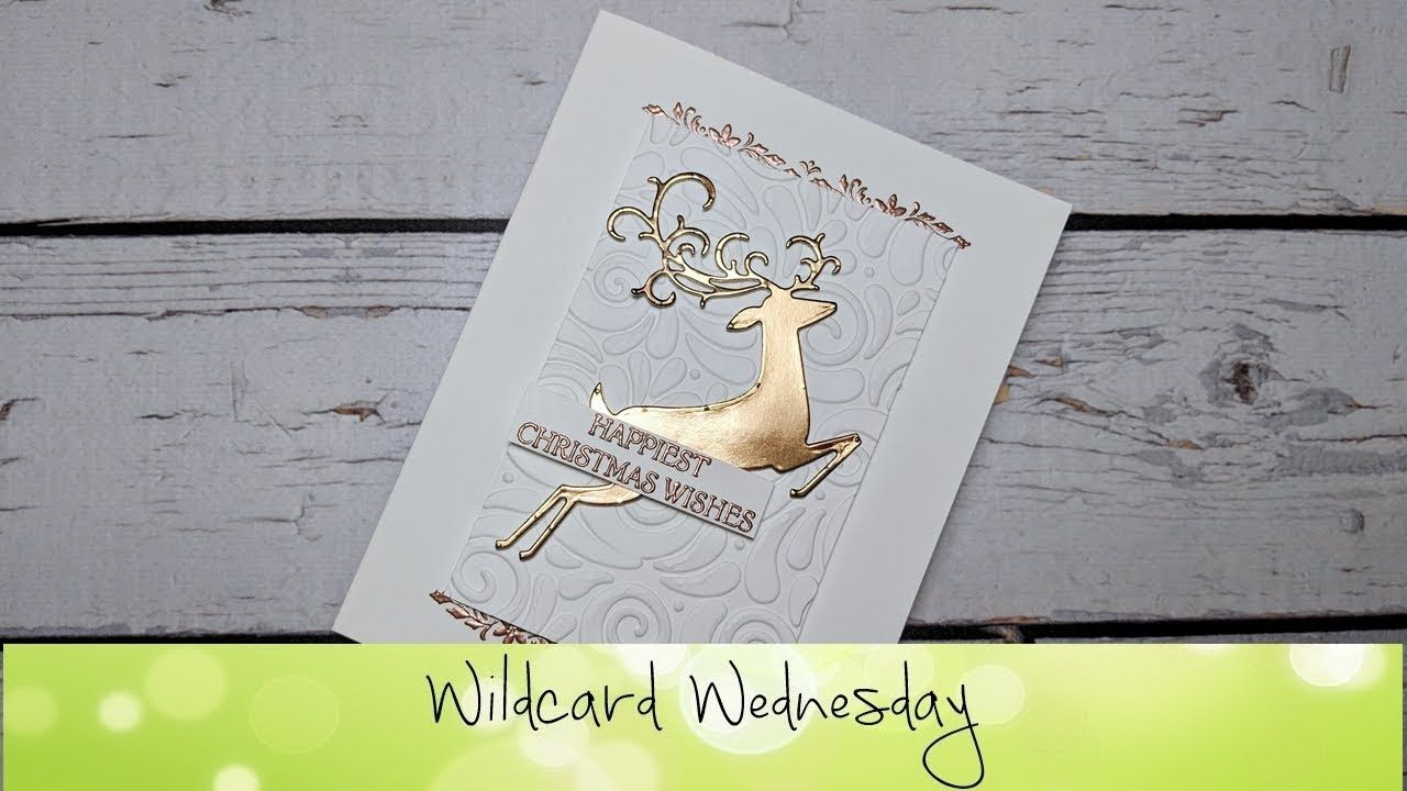 Dashing Deer Card Featuring Stampin Up Products Youtube Cards