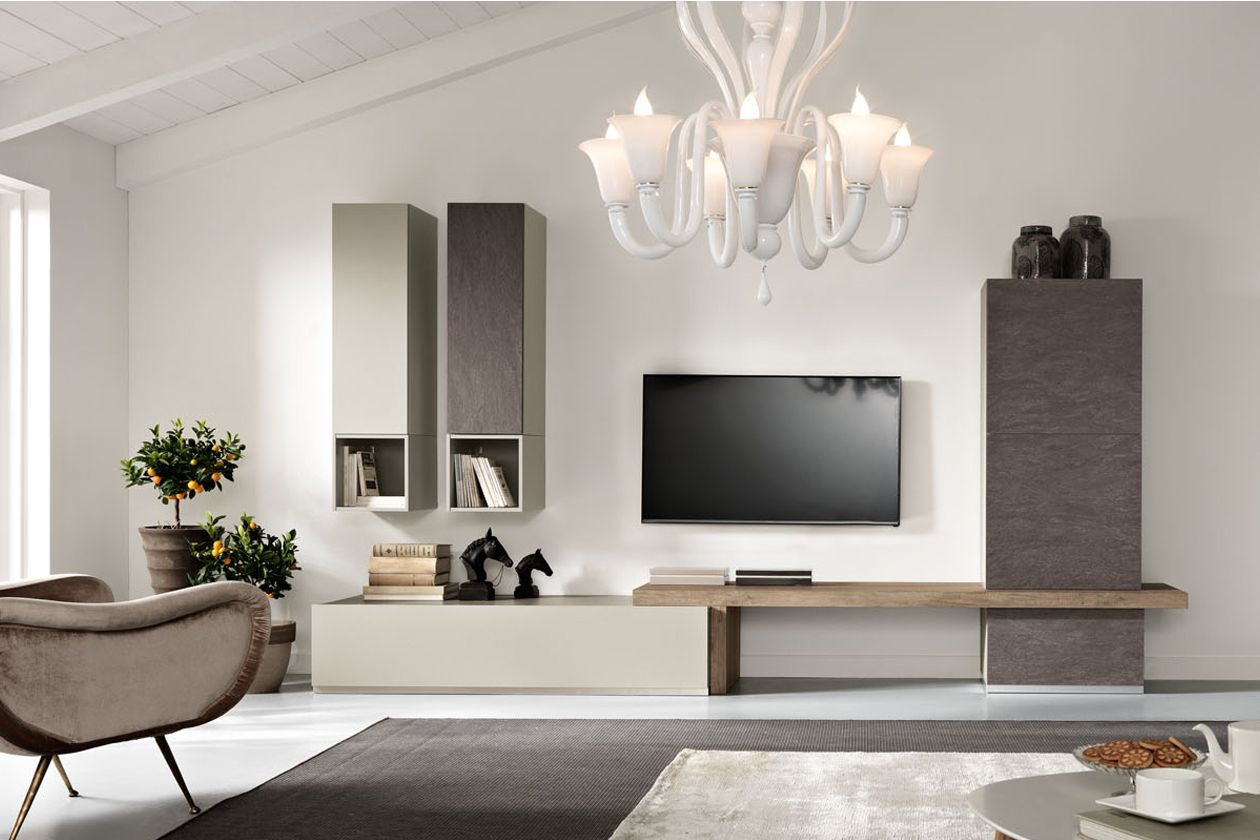 We Present A New Line Of Exential With New Materials And Finishes Exentialnew Is Designed To E Modern Wall Units Living Room Design Modern Modern Tv Units