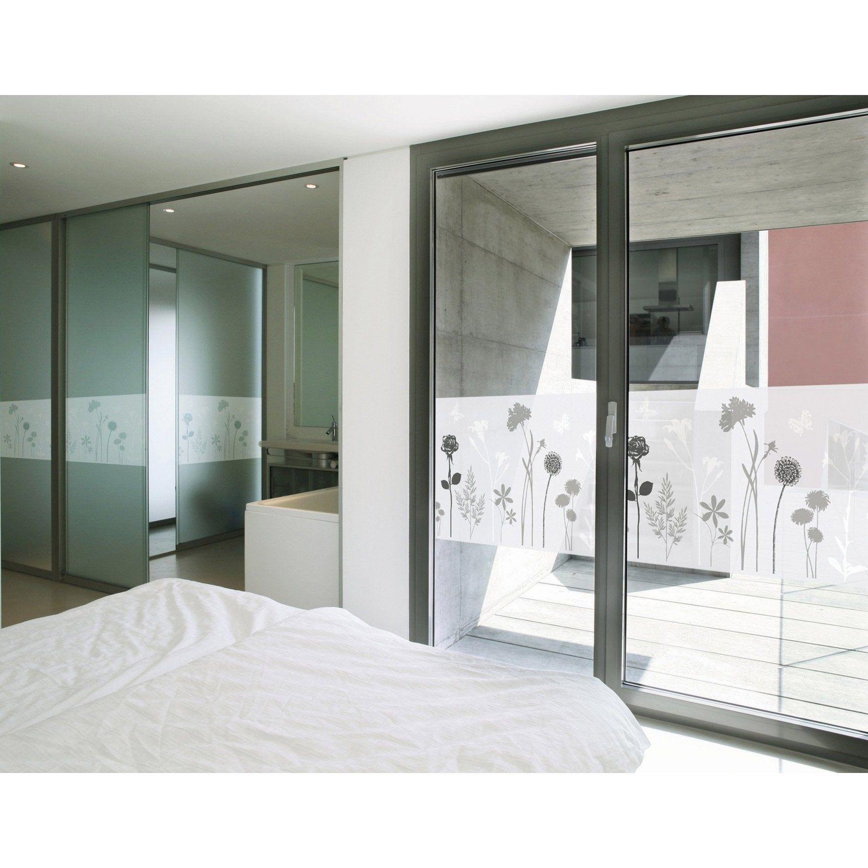 Vitrostatique Pour Vitre Blos Incolore 1 5 M X 0 45 M Film Pour Fenetre Decoration Fenetre Et Vitre