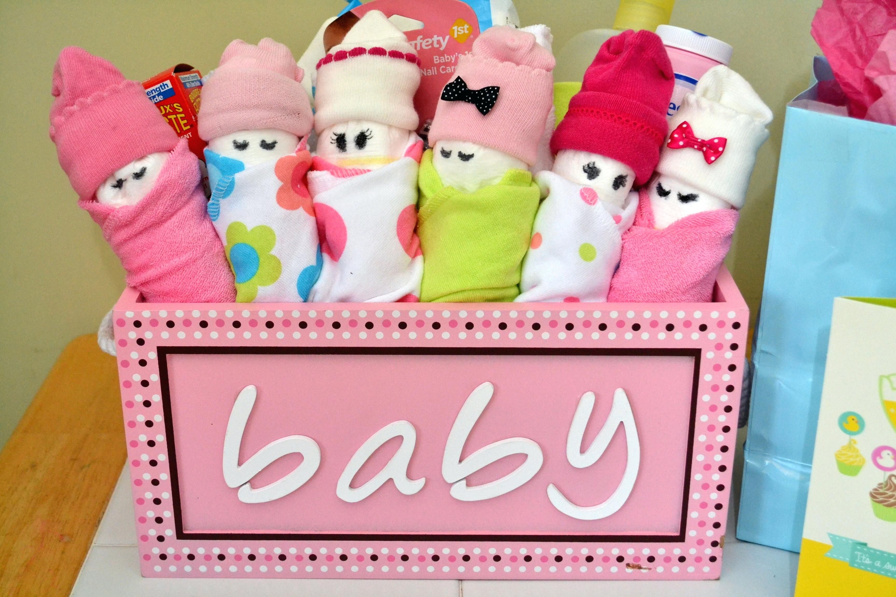 Diy Babywer Gifts For Girl Cute Cheap Guests Uk Gift