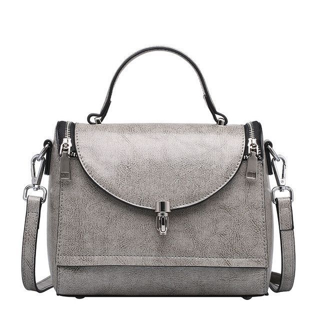 New women bag genuine leather women handbag famous designer women shoulder bags vintage women leather handbags
