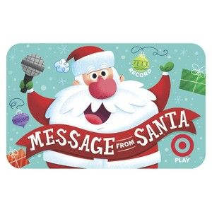 Recordable santa gift card target mobile travel pinterest recordable santa gift card target mobile m4hsunfo