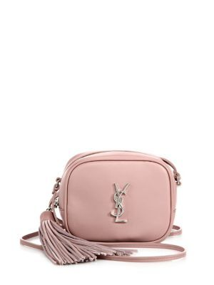 bba36aa937 SAINT LAURENT Saint Laurent Monogram Leather Tassel Blogger Pouch.   saintlaurent  bags  shoulder bags  leather  pouch  accessory