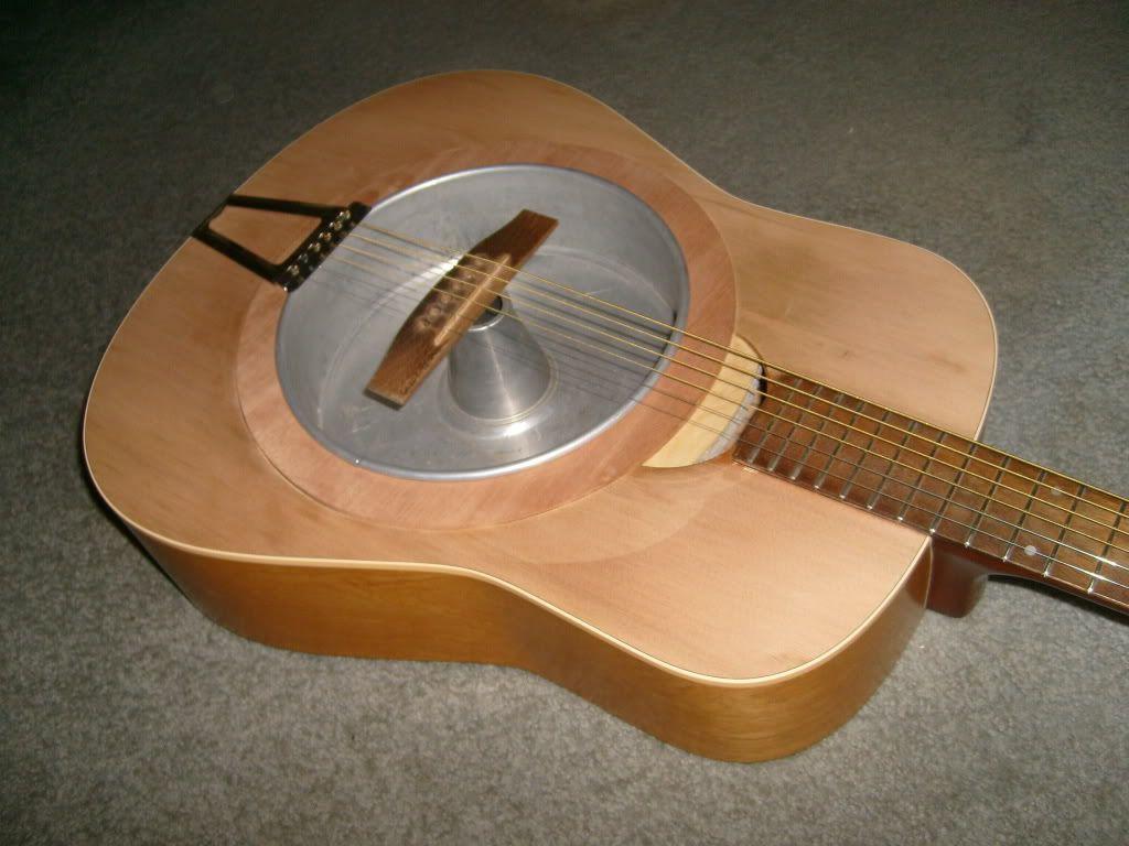Sweet Homespun Resonator Guitar