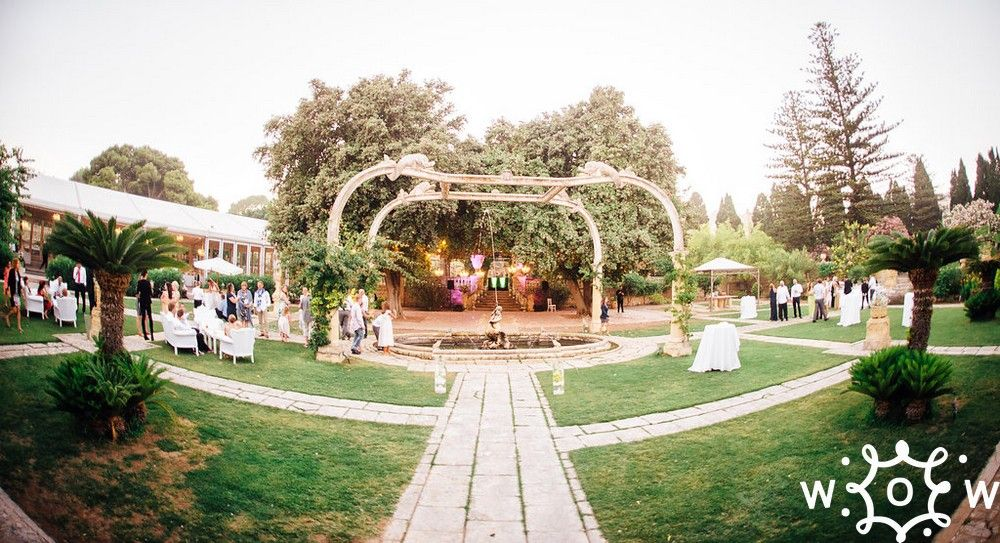 Tail Recpetion At Villa Bologna Great Wedding Venue For Summer In Malta