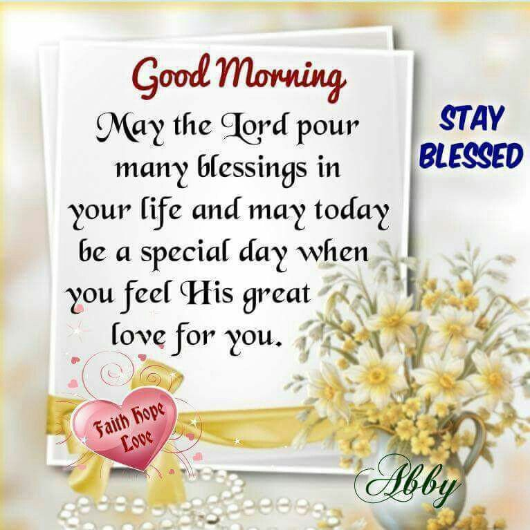 Good Morning Quotes Blessings: Good Morning Blessings Inspiration