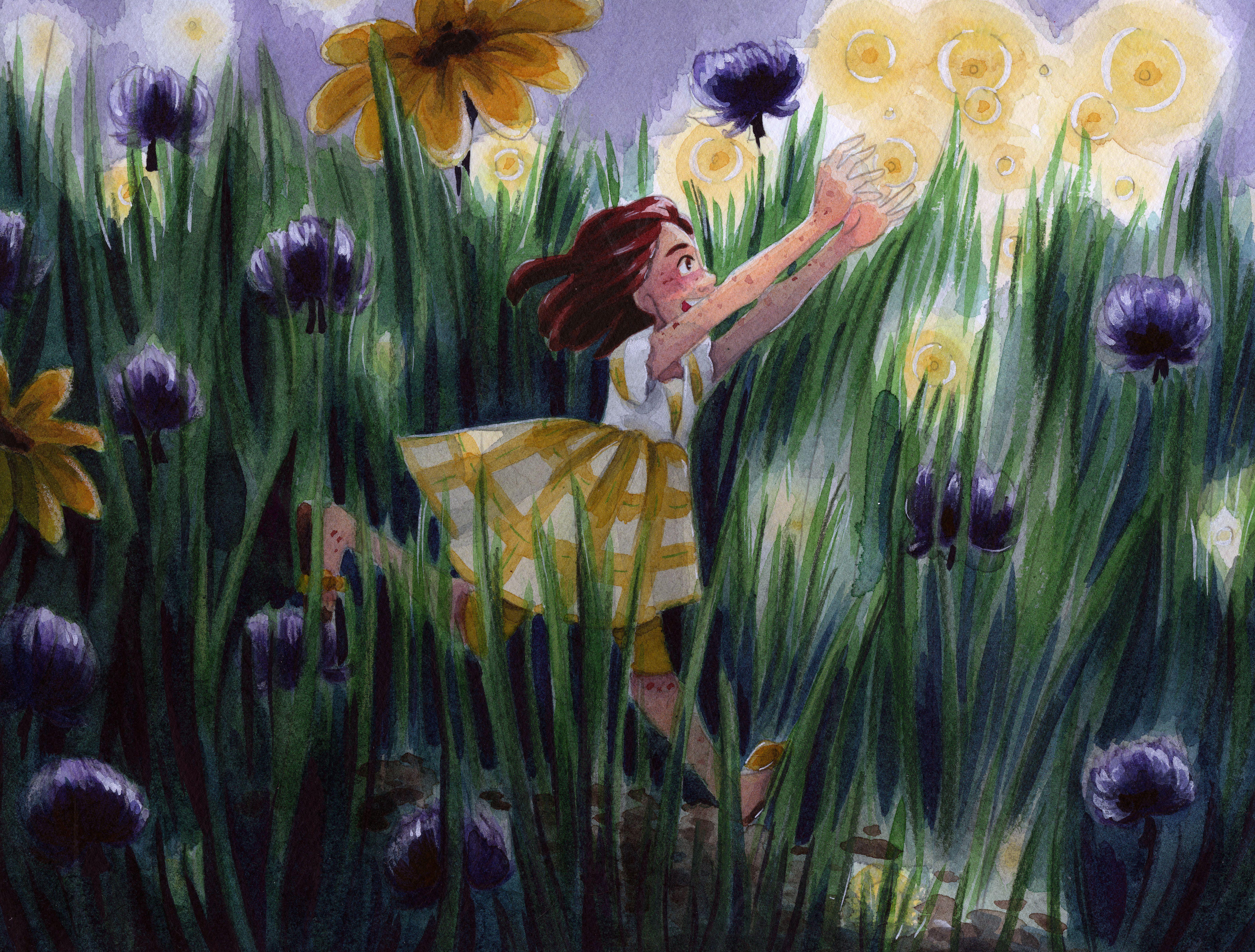 #watercolorart #watercolorillustration #art #illustration #watercolor #painting #kidlitart