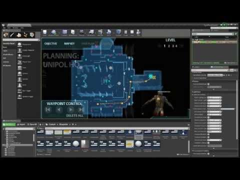 EPSILON: Using World Objects to create UI in Unreal Engine 4