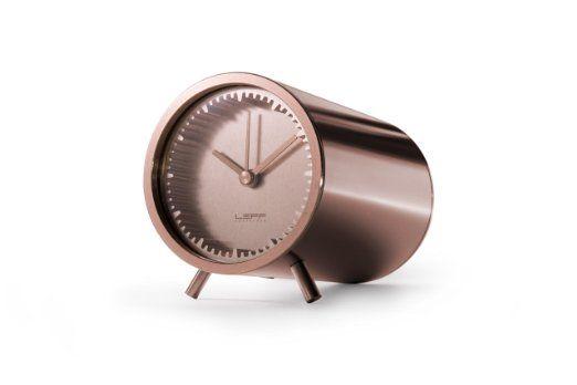 Amazon.com: piet hein eek tube clock copper: Home & Kitchen