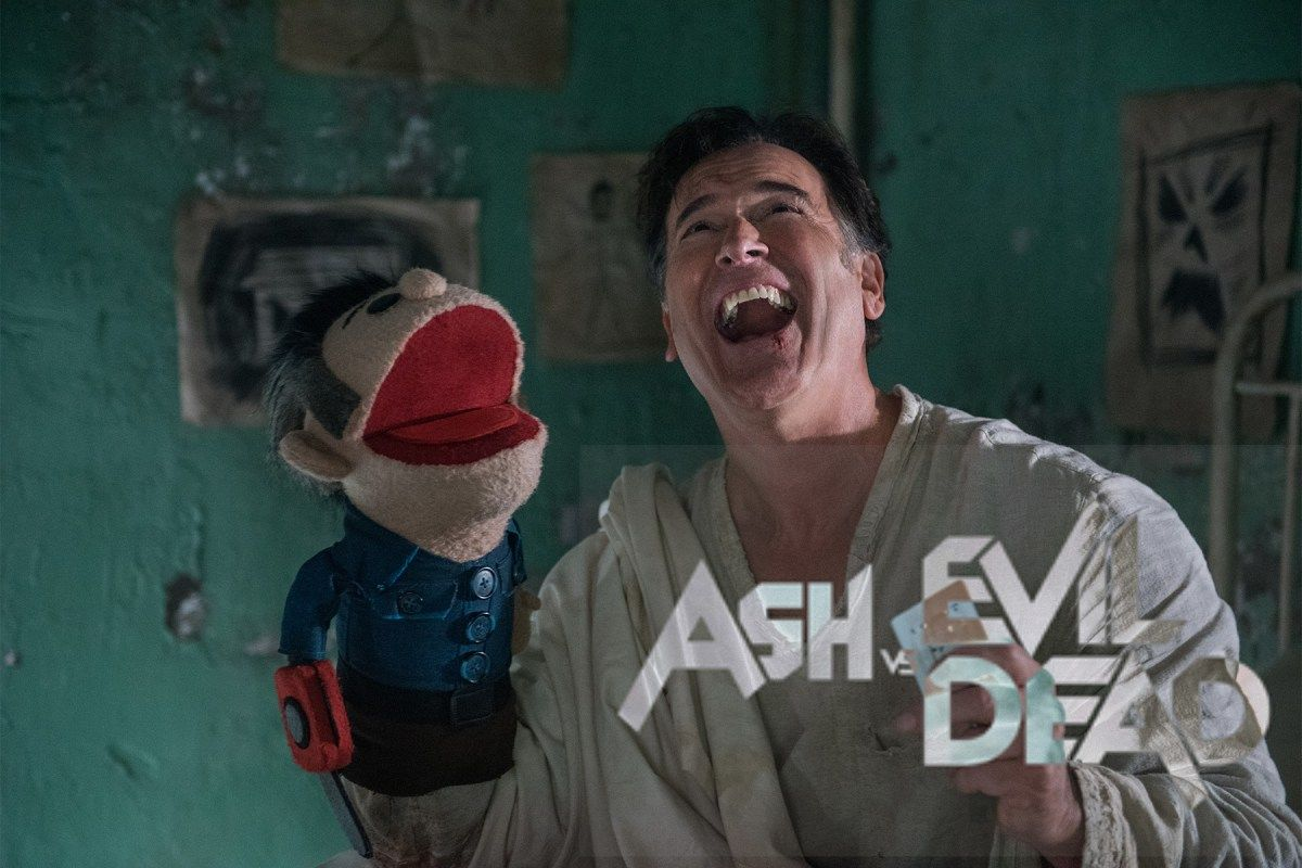 'ASH VS EVIL DEAD' Puppet Is Available If In Need Of Some Retail Therapy This Weekend