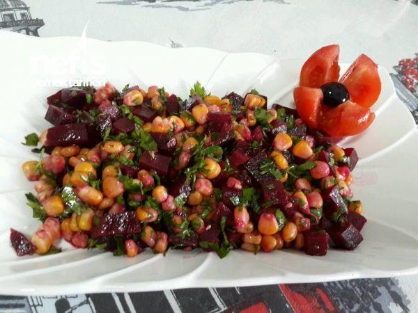 Kırmızı Pancar Salatası Pancar Salatası Yemek Tarifleri Yemek