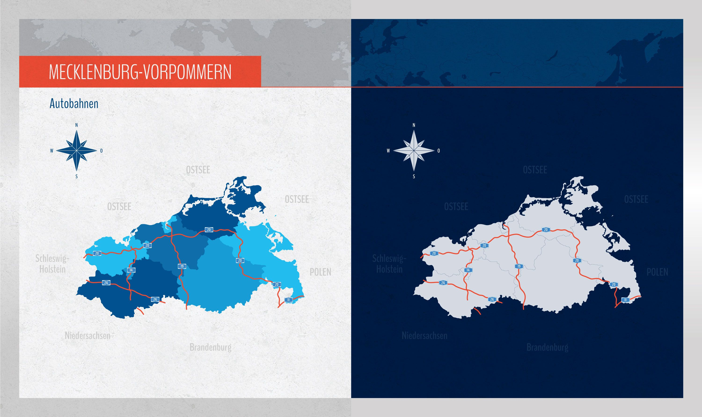 Landkarte Mecklenburg Vorpommern Mit Landkreisen Landkarte