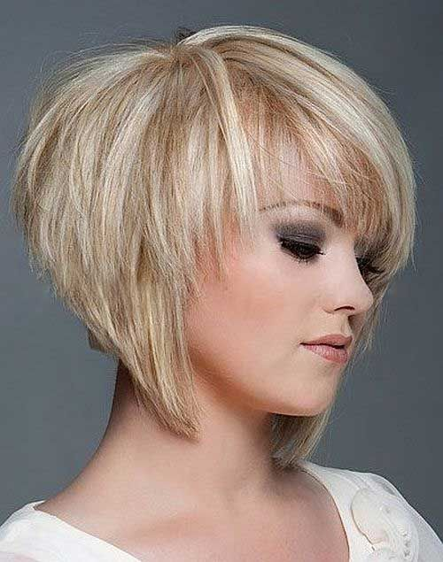 short bob haircut pinterest best 25 layered bob haircuts ideas on 6295 | c447b8674b25694535c056f21278fa5f