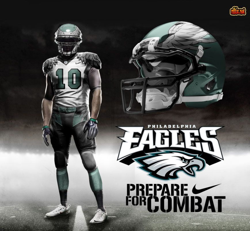 Philadelphia Eagles New Uniforms 2014   NFL   Pinterest