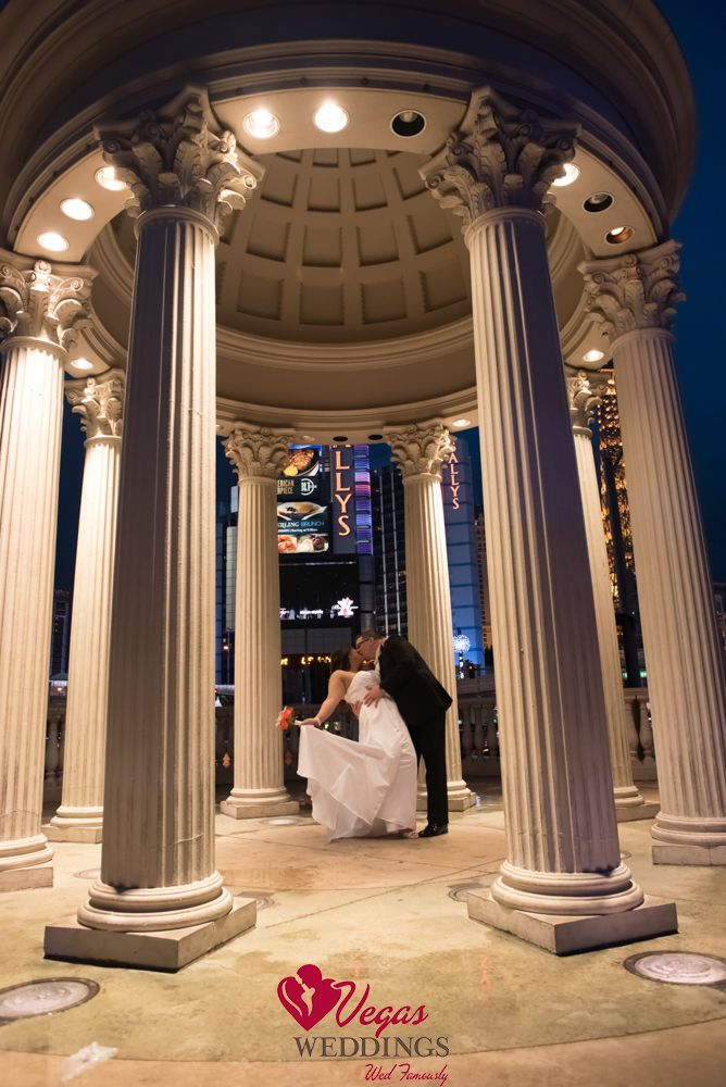 Caesar's Palace take photos here after your ceremony with