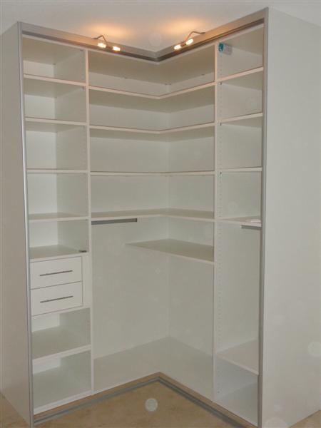 idee voor een hoekkast - slaapkamer | pinterest - kledingkast, Deco ideeën