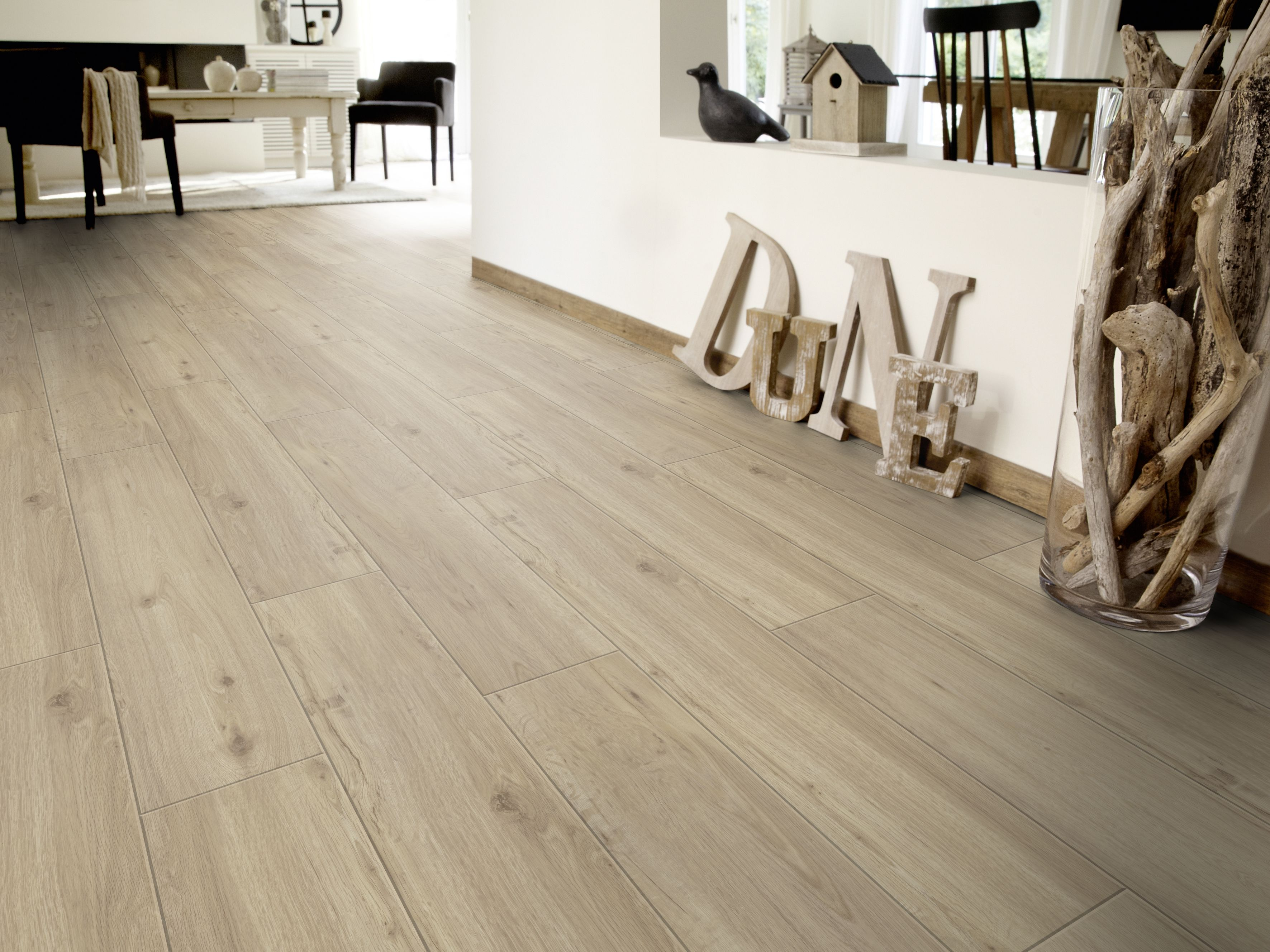 Srarfloor click 50 Rovere Soft Beige #pavimenti #soggiorno ...