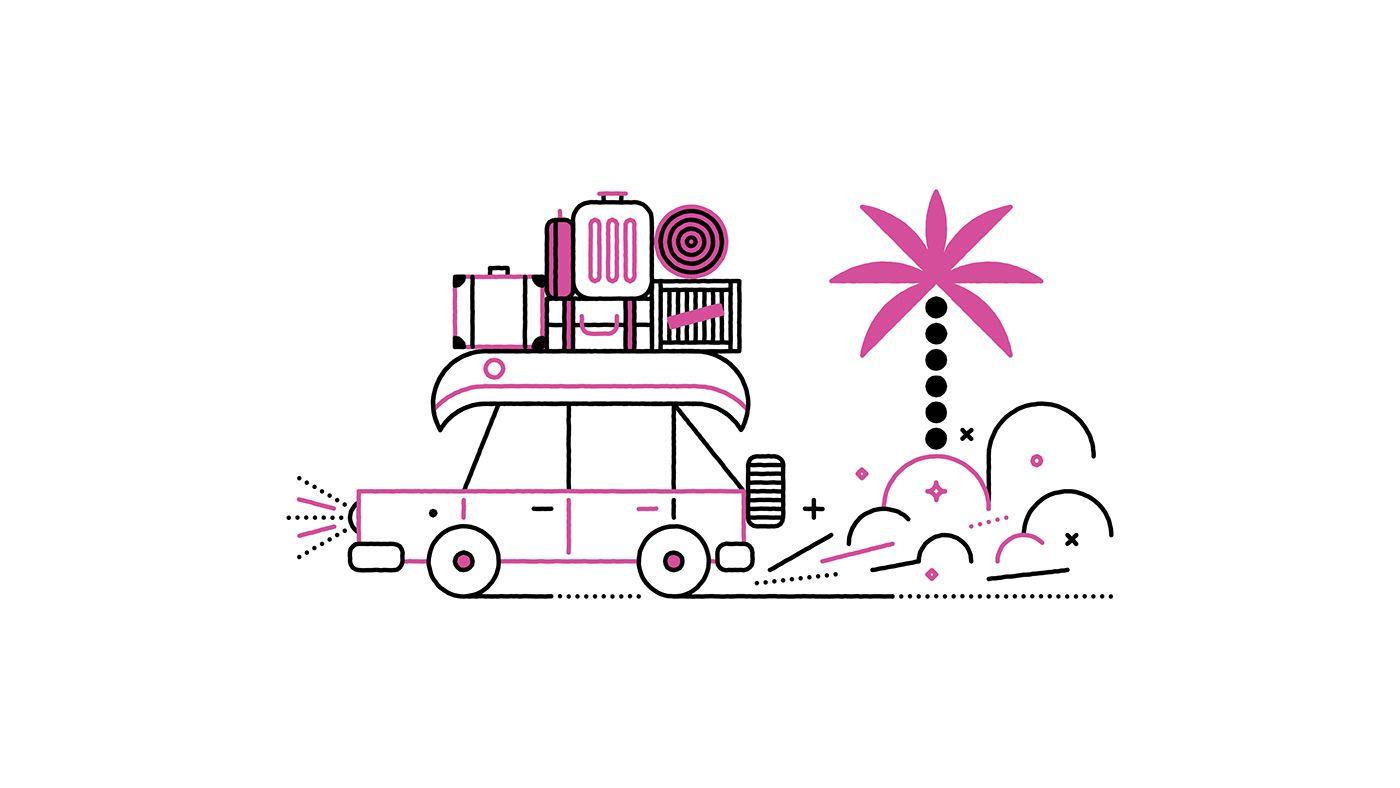 NatGeo Traveler 2017 on Behance Travel logo, National