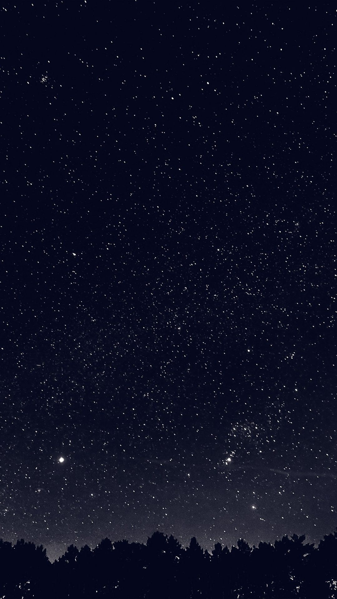 Wallpaper iphone sky - Space Sky Night Dark Nature Bw Iphone 6 Wallpaper