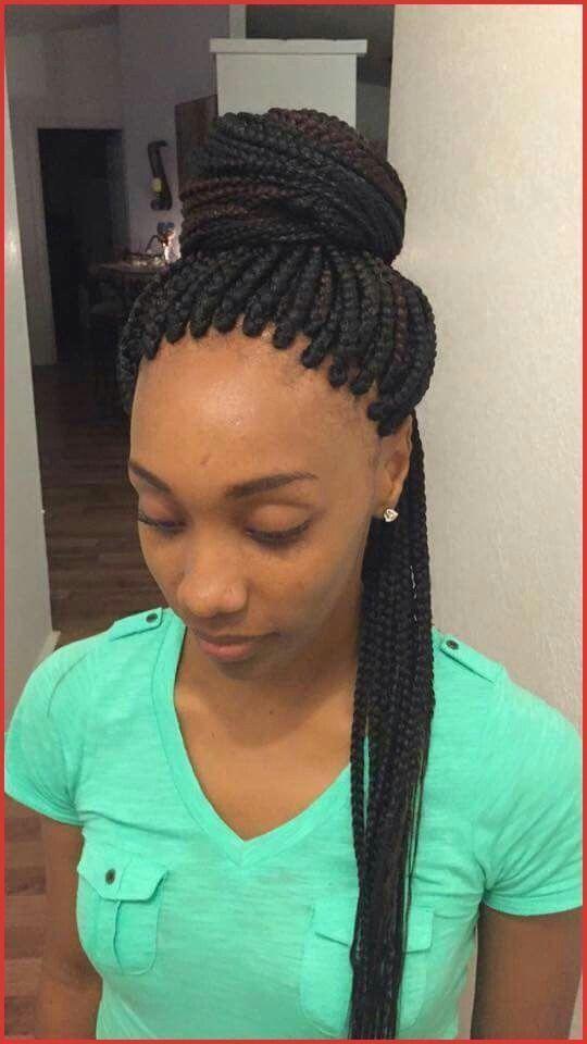60 Totally Chic Box Braids Hairstyles #boxbraids #boxbraidshairstyles #boxbraidhair #colorfulboxbraids # rasta Braids frisuren