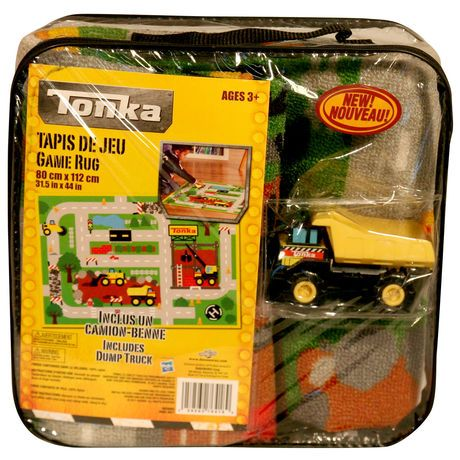 Tonka Rug With Toy Truck Ca