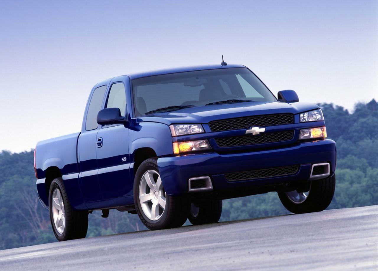 All Chevy chevy 1500 ss : 2003 Chevrolet Silverado SS | Chevrolet | Pinterest | Chevrolet ...