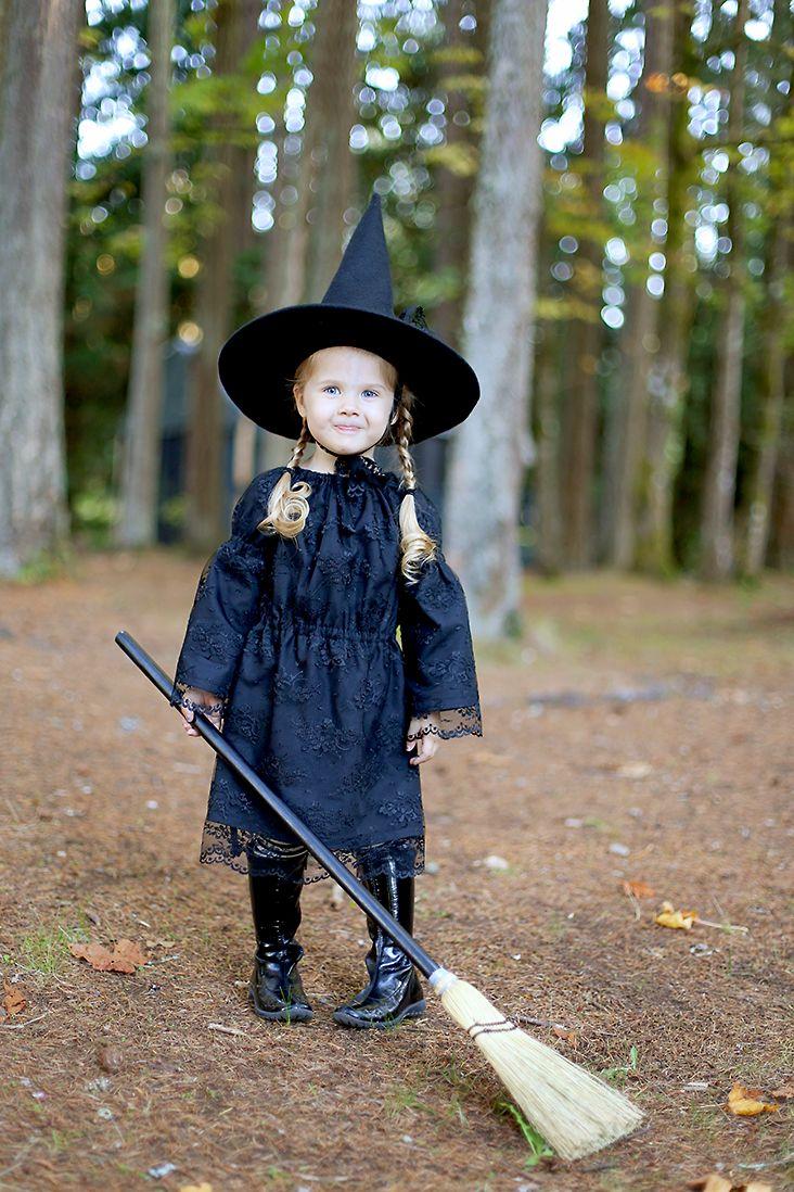 Free Witch Hat Pattern + DIY Witch Costume - Sew Much Ado ...