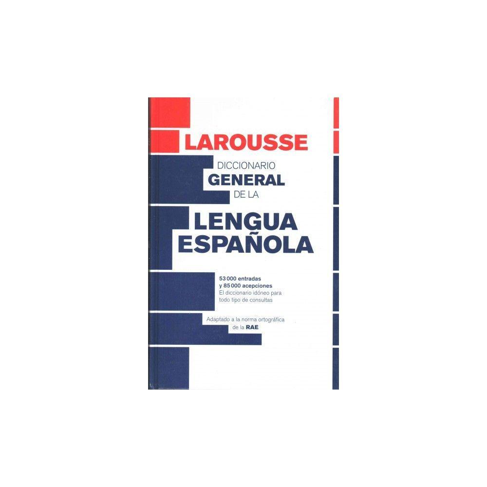 Diccionario general de la lengua espaola / General Spanish Language Dictionary (Hardcover)