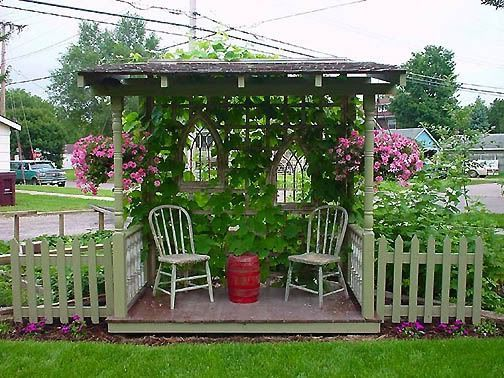 Diy Garden Ideas | DIY Garden Ideas / I Should Do This Little Enclave In My